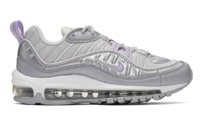 ssense, ssense sale, mike grey and purple air max 98