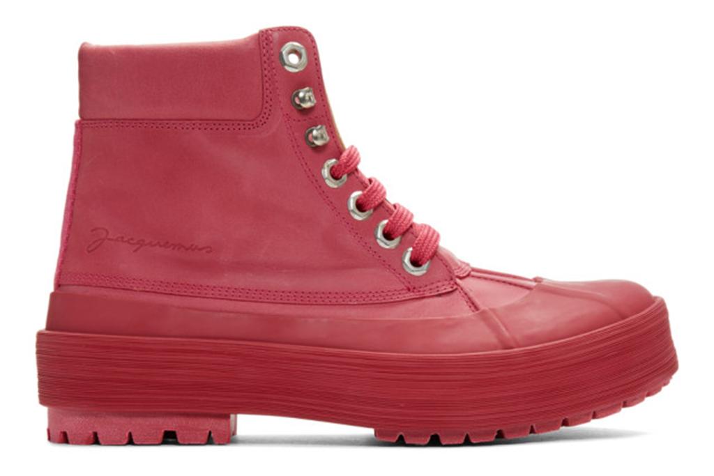ssense shoe, ssense sale, jacquemus boot