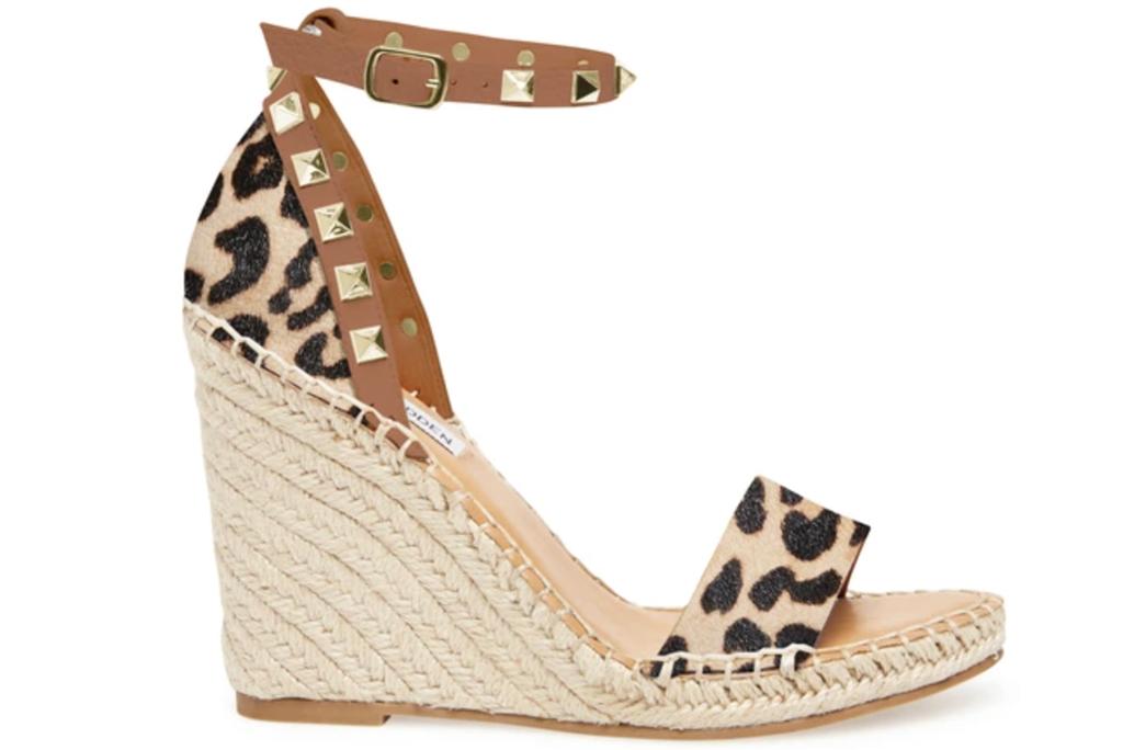 Steve Madden, leopard sandals