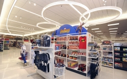 A remodeled Target Store is shown