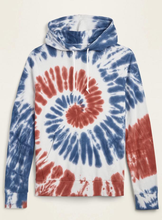 Old Navy, tie-dye hoodie