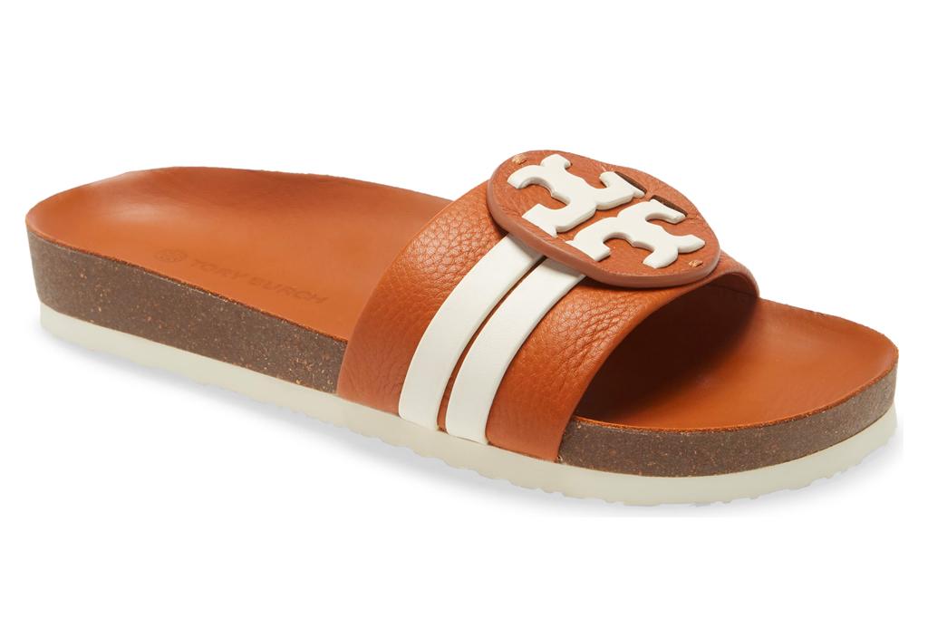 tory burch, leigh slide, sandlas