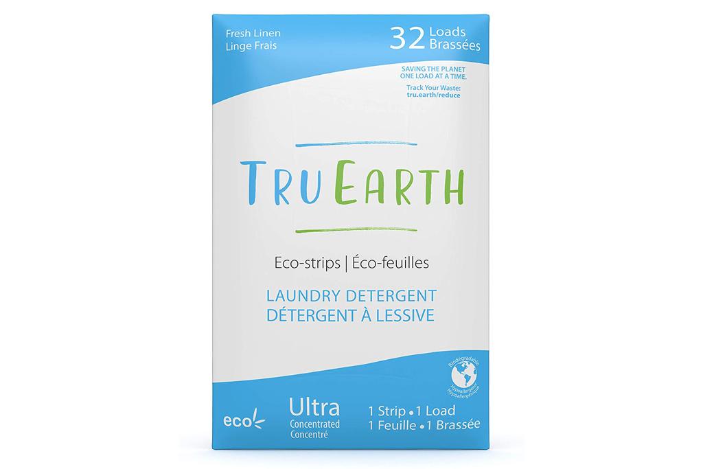 laundry detergent, bleach, tru earth