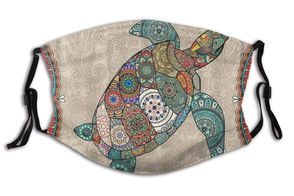 turtle, face mask