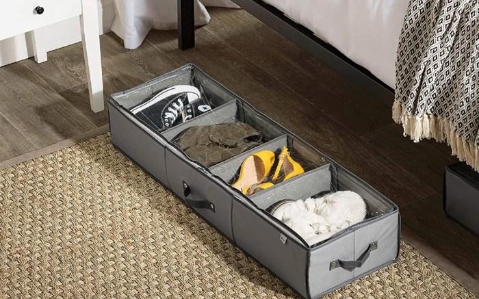 under bed shoe storage bag