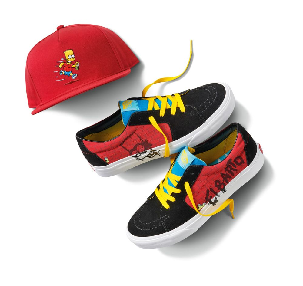 Vans X The Simpsons Release Info Price Point More Footwear News