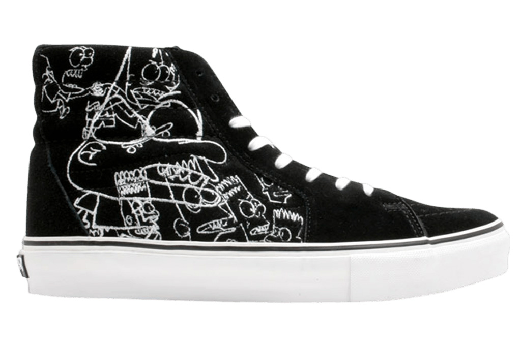 vans, the simpsons, sneakers, shoes, collection, collab