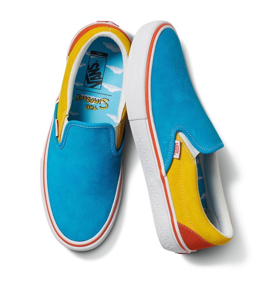 vans, the simpsons, sneakers, shoes, collection, collaboration