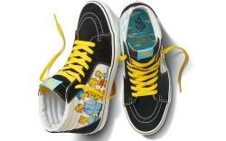 vans, the simpsons, sneakers, shoes, collection,