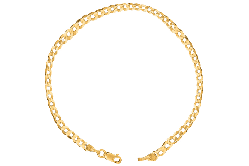Walmart, gold ankle chain