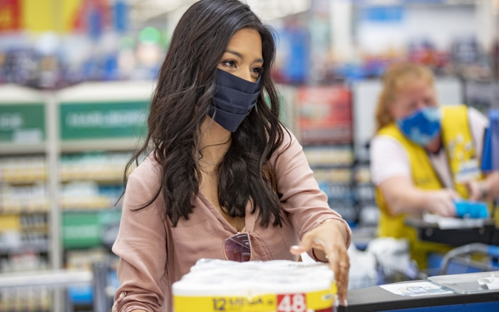 Walmart , face mask, customer, requirement