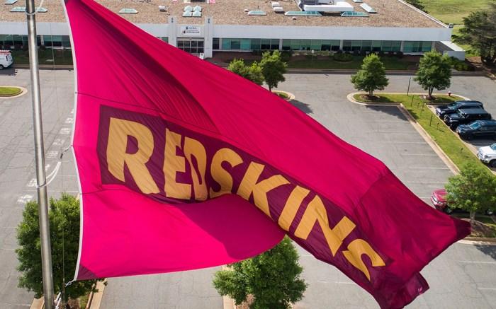 washington redskins, flag