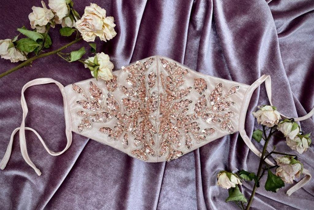 etsy face mask, bridal face mask, wedding face mask