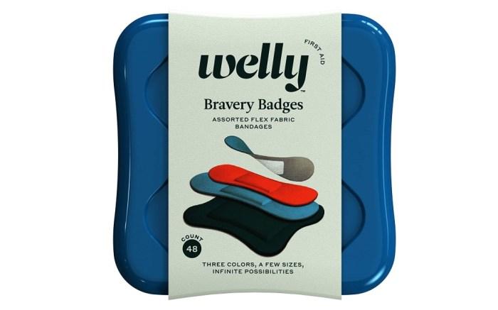 Welly Bravery Badges