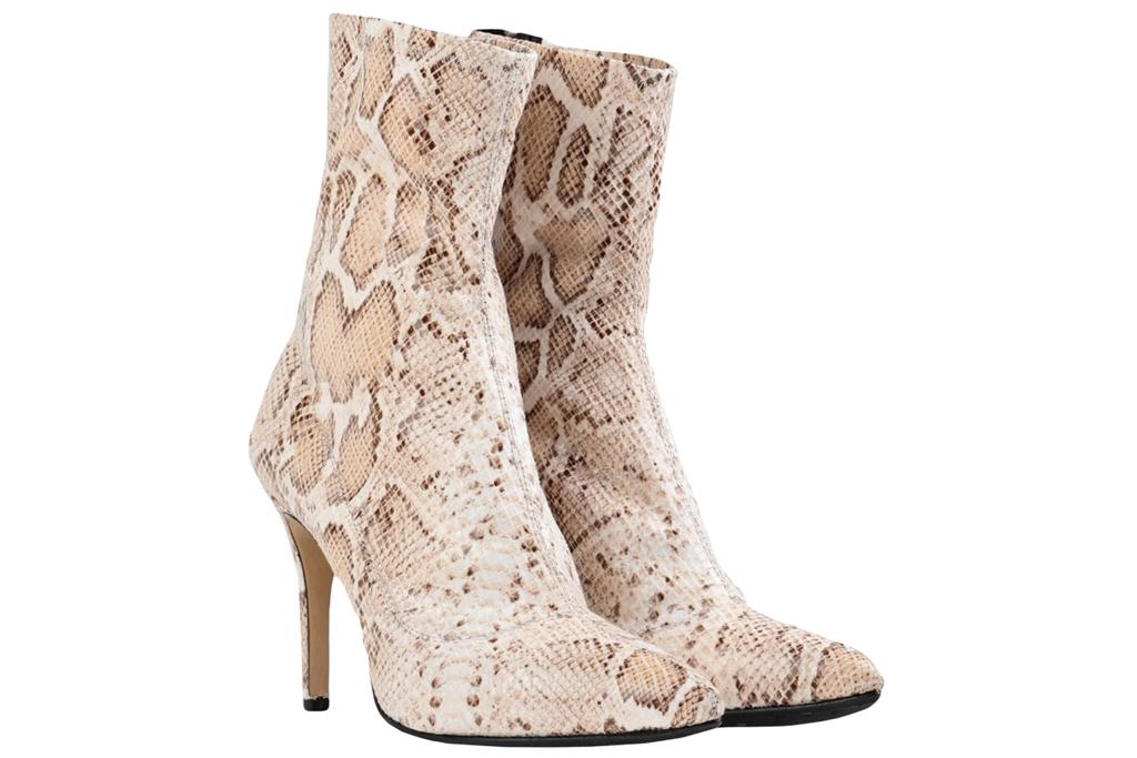 L'arianna, python boots
