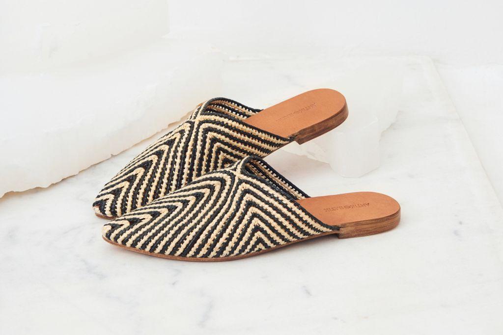 babouche, raffia shoes, raffia trend, raffia, summer 2020 shoe trend, fall 2020 shoe trend