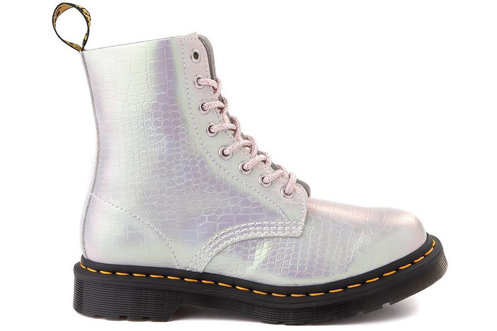 dr. martens, iridescent dr. marten boots, 1460 boots