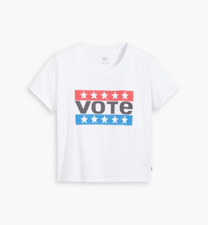 levi's, levi's use your voice, levi's vote t-shirt, levi's t-shirt, t-shirt