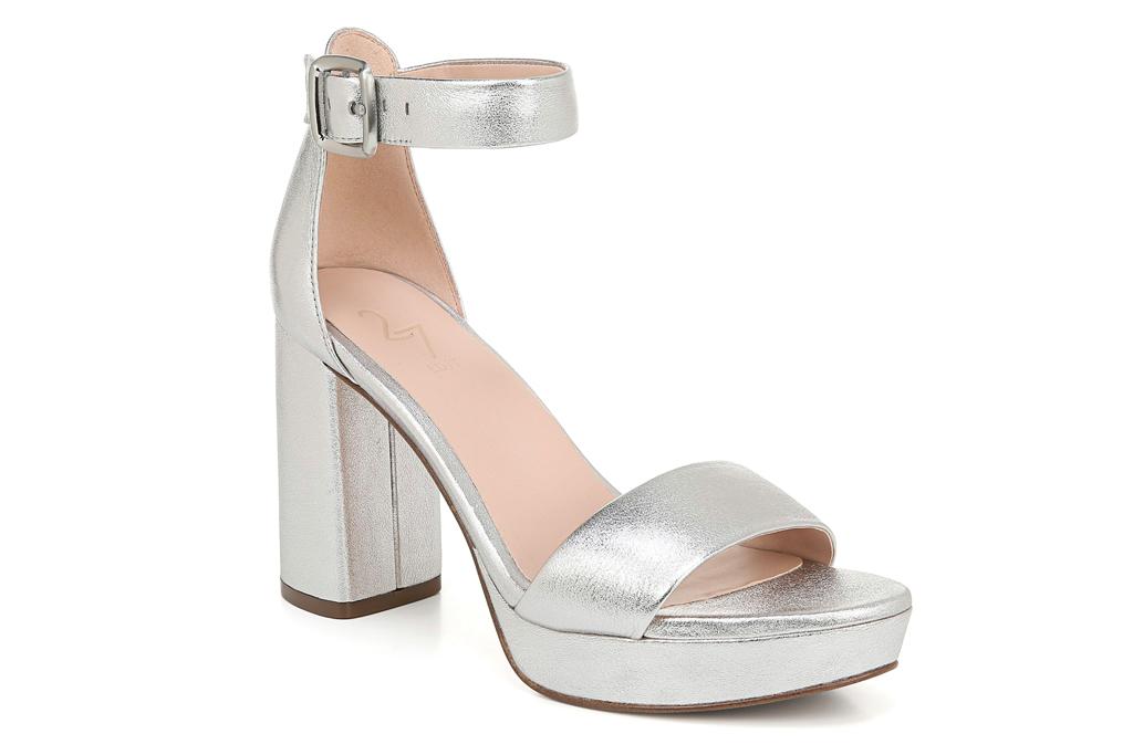 silver, sandals, platform, 27 edit