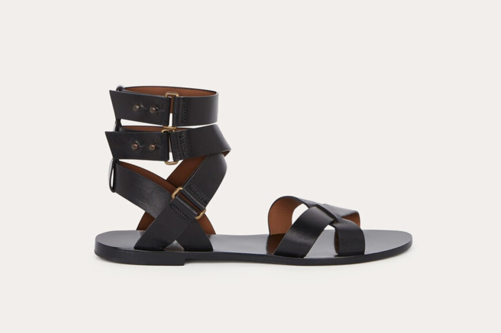 Ba&Sh sample sale, Ba&Sh sandals, gladiator sandals