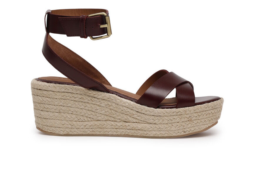 Ba&Sh sample sale, espadrille wedges, ba&sh shoes
