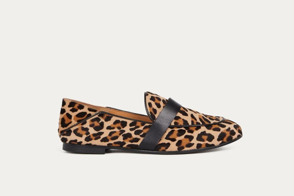 Ba&Sh sample sale, Ba&Sh loafers, leopard loafers