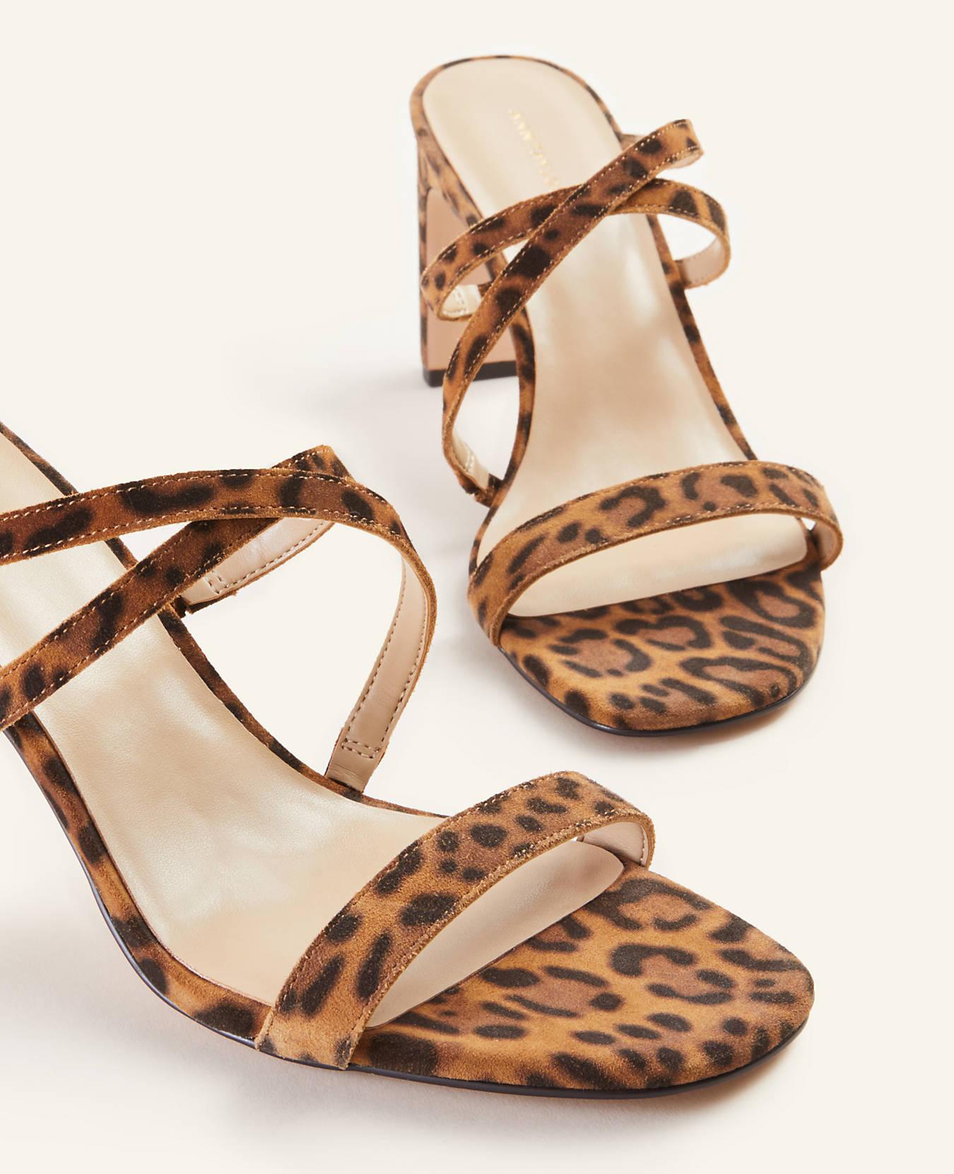 leopard print, sandals