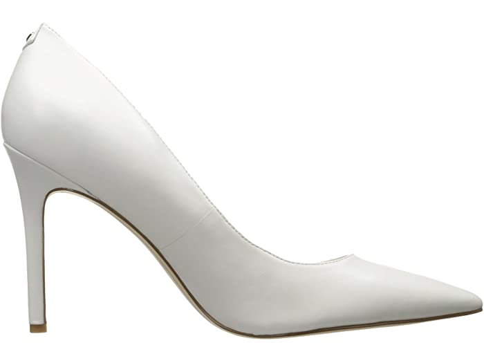 sam edelman heel, white pump, zappos