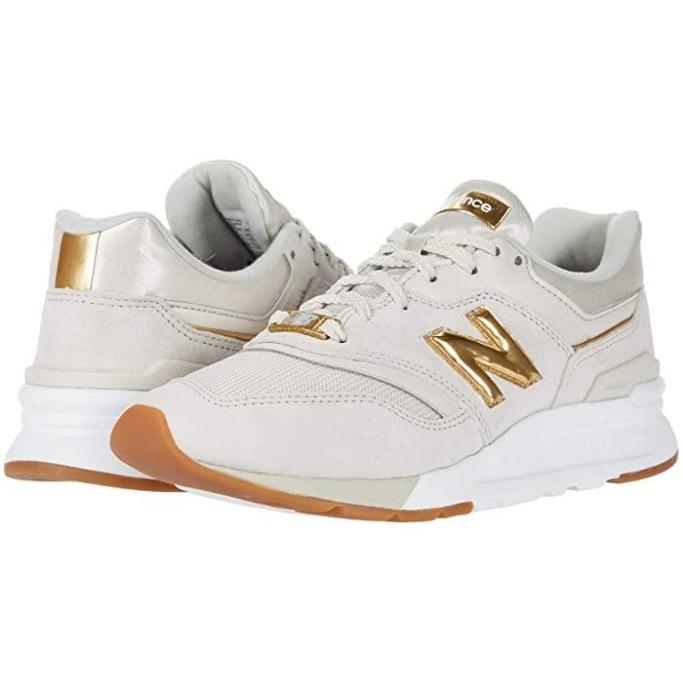 AA-New-Balance-Sneakers, new balance, gold n