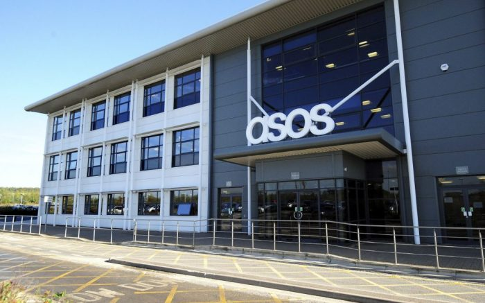 """ASOS financial forecast. File photo dated 24/10/13 of the ASOS distribution centre near Barnsley, South Yorkshire. The online retailer has warned over sales and profits after experiencing a """"significant deterioration"""" in trading in the run-up to Christmas. Issue date: Monday December 17, 2018. See PA story CITY Asos. Photo credit should read: Rui Vieira/PA Wire URN:40267377 (Press Association via AP Images)"""