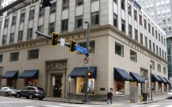 This is the Brooks Brothers store