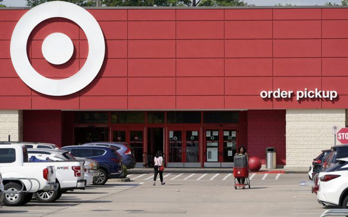 A Target store is shown Thursday, Aug. 6, 2020, in Houston. (AP Photo/David J. Phillip)