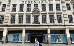 Debenhams job losses. A view of
