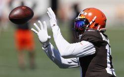 Cleveland Browns wide receiver Odell Beckham