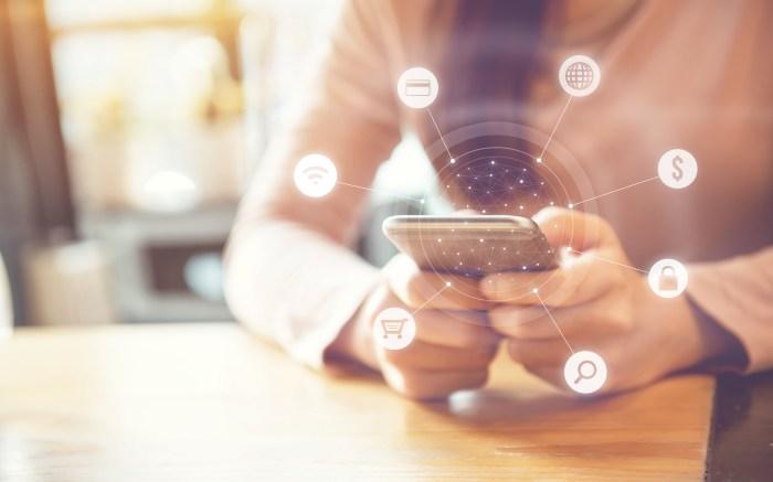 Digital marketing mobile smartphone ecommerce
