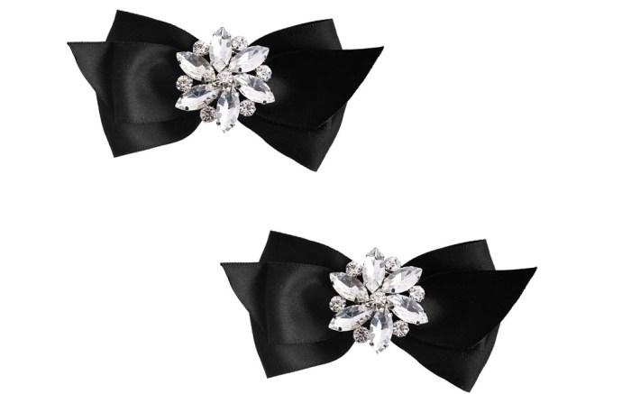 ElegantPark CQ Women Bow Shoe Clips