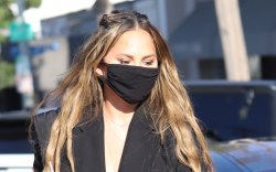Chrissy Teigen, Hollywood, Strappy Sandals, Gelato,