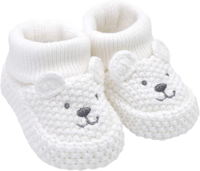 Carter's Polar Bear Crochet Booties