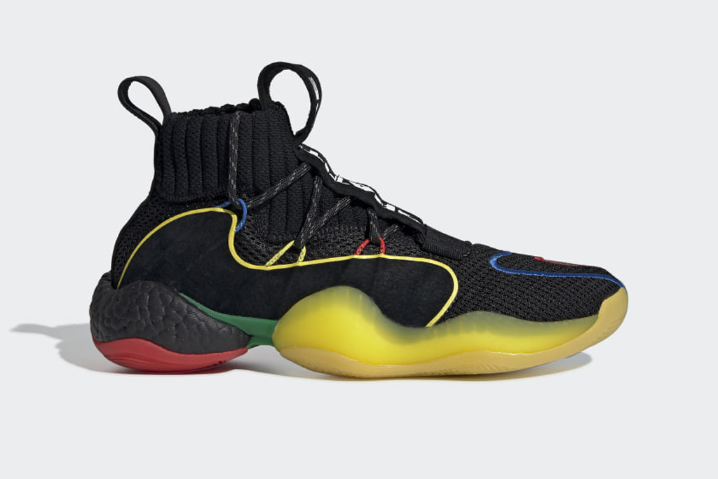 Crazy BYW LVL x Pharrell Williams sneaker, adidas, pharrell williams sneaker