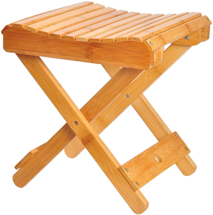 Ecrocy Bamboo Folding Stool