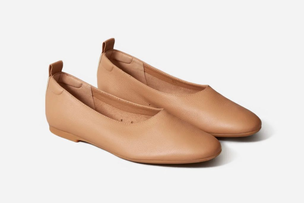 everlane, everlane ballet flat, ballet flat, fall 2020 shoe trends, shoes, fashion trends