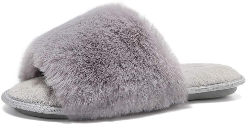 Fanture-Cozy-Faux-Fur-Slippers