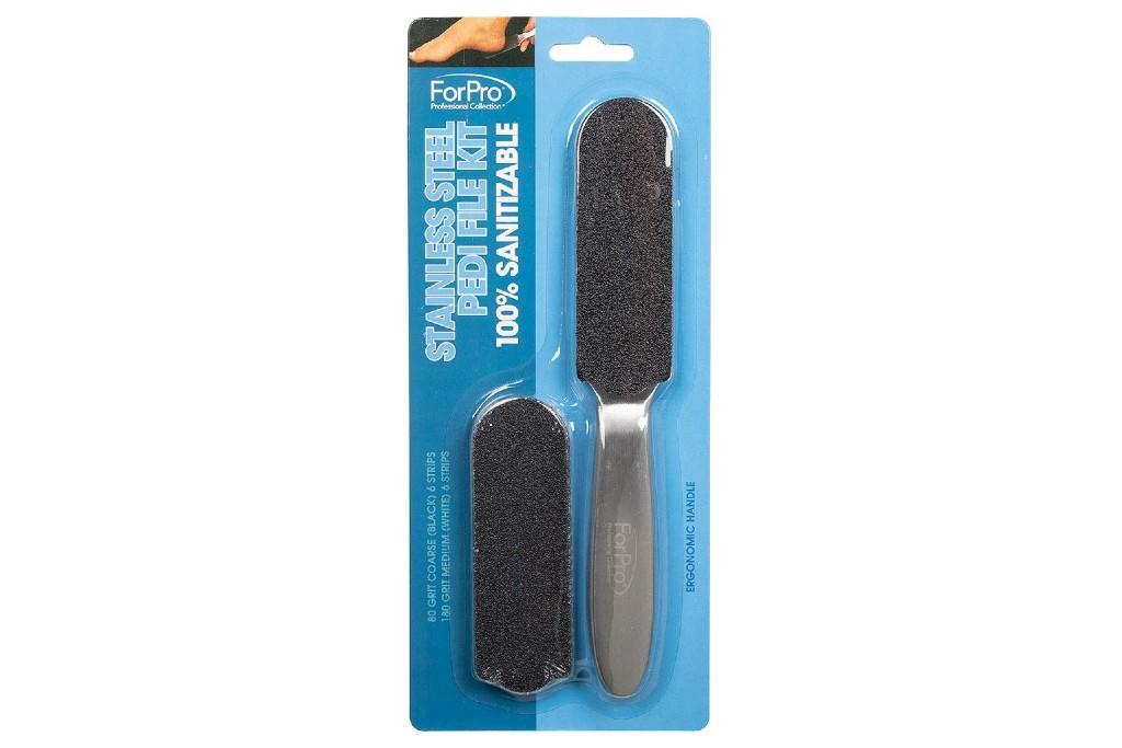 ForPro Stainless Steel Pedi File Kit