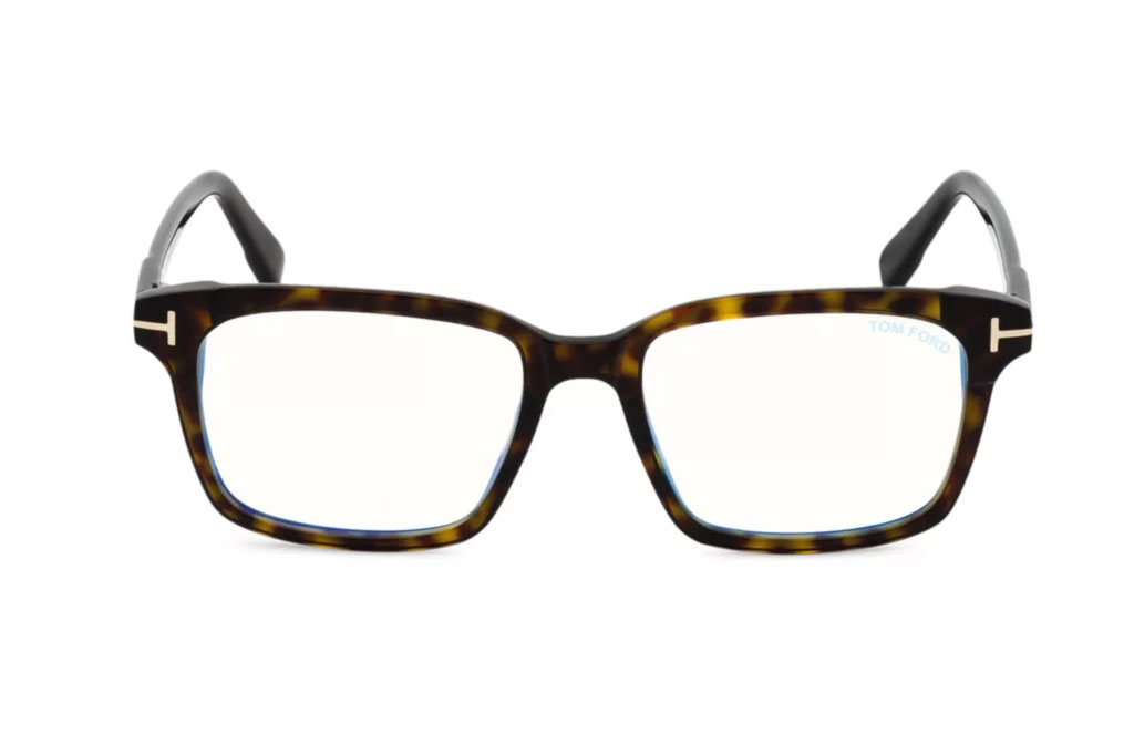 Tom Ford, 51MM, Plastic Blue Filter, Optical Glasses
