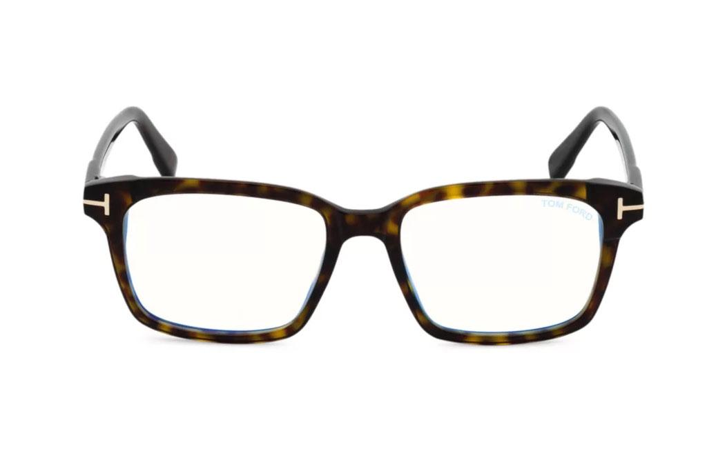 Tom Ford, 51MM, Plastic Blue Filter, Optical Glasses