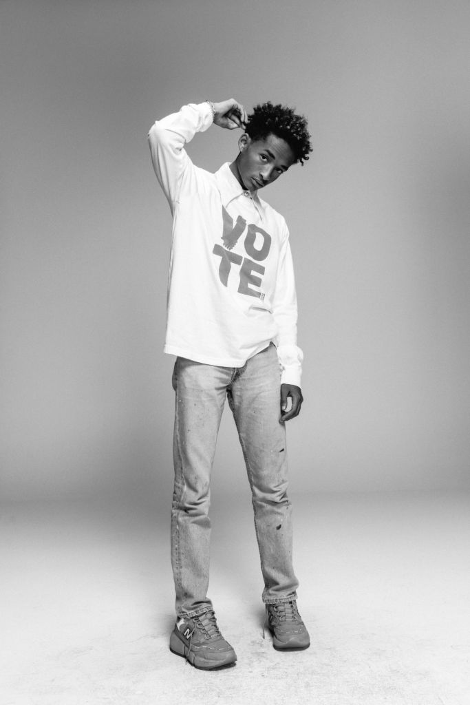jaden smith, levis, jaden smith levis, levi's, levi's use your voice, levi's voting, 2020 election