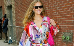 nina agdal, nina agdal out and