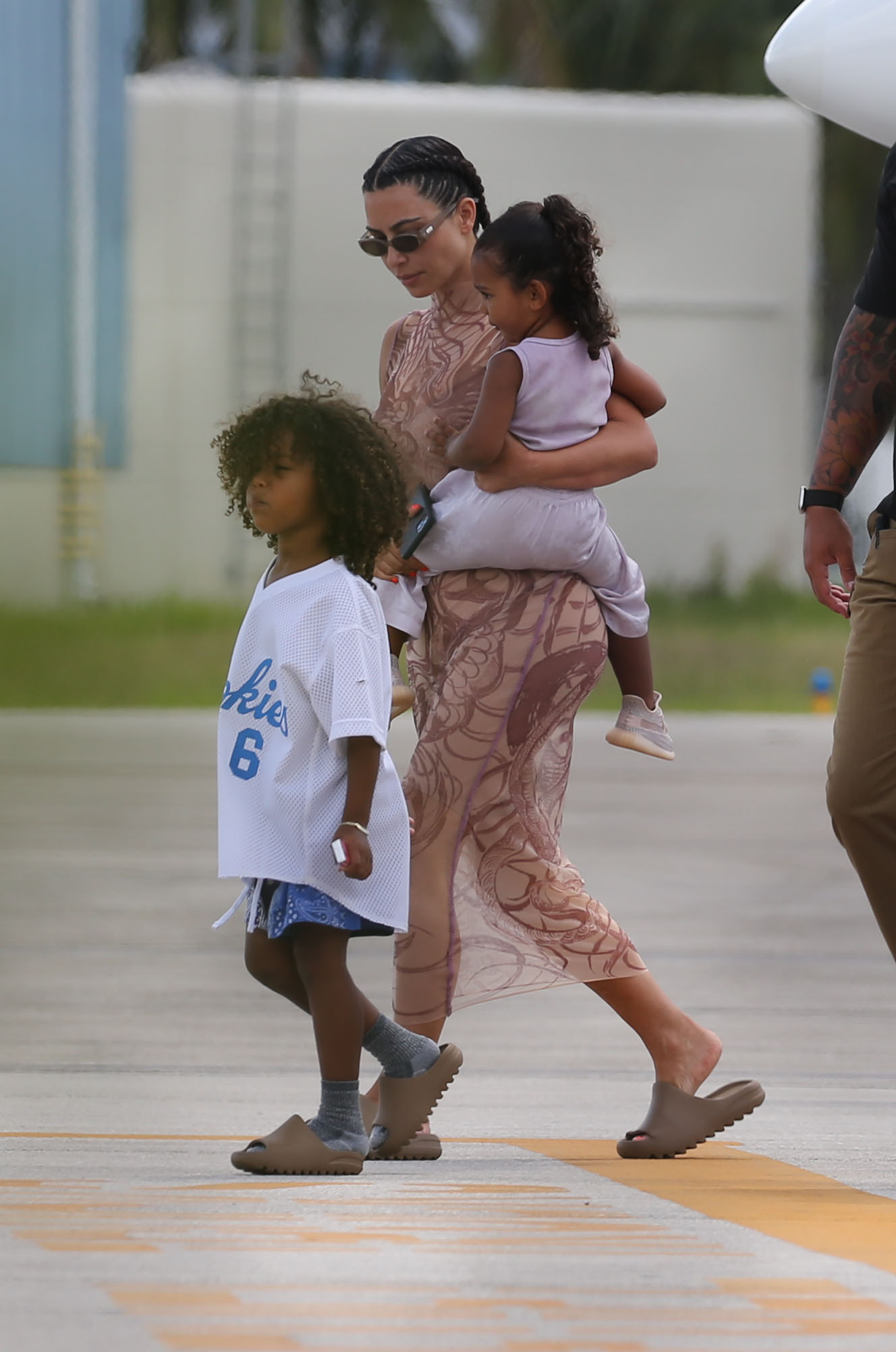Kim Kardashian and kids