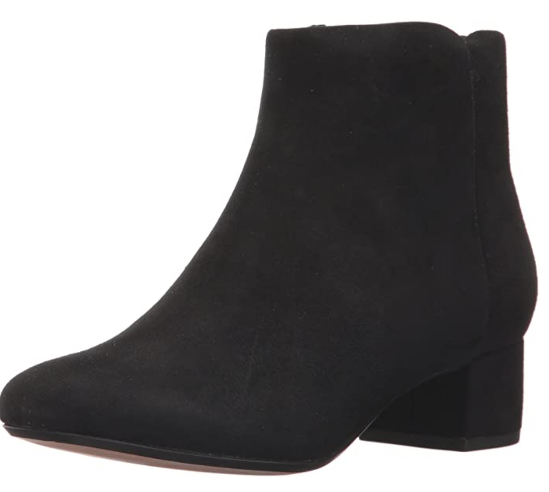 Amazon, suede boots