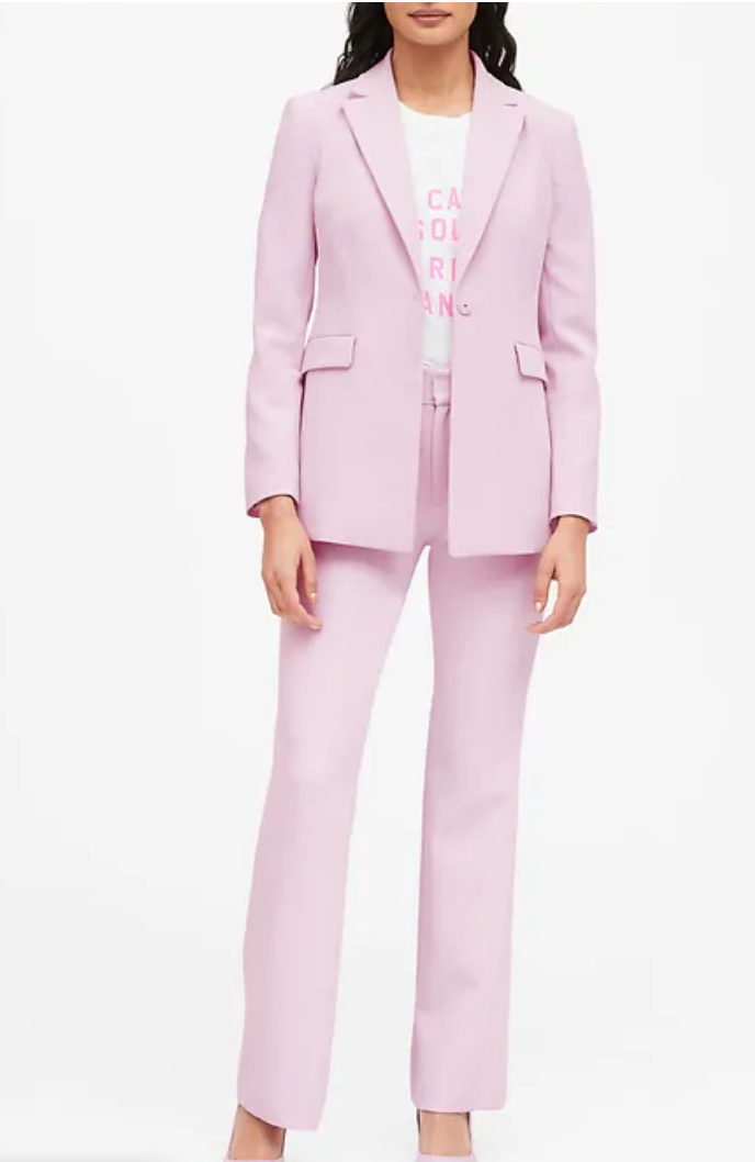Banana Republic, pink blazer